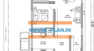 40×60 ground floor house plan