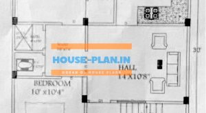 750 square feet house plan