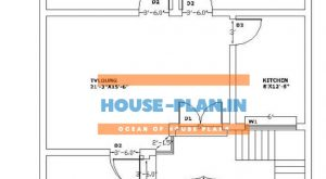 Small house plan 29×47