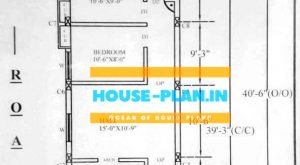 house plan 16×40 ground floor