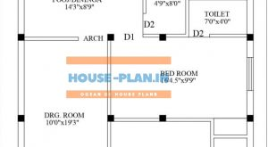 house plan 26.40 ground floor