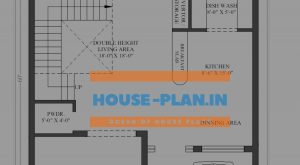 house plan 30×60 ground floor