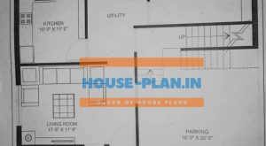 house plan 33×37 ground floor