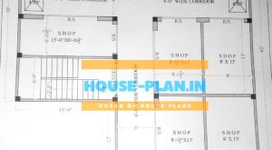 house plan 39×42 ground floor