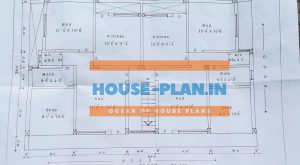 north facing house plan 33×50