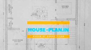 north facing house vastu plan 32×65