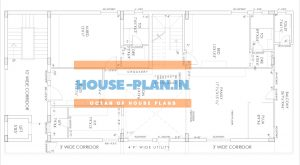 south facing house plan samples first floor