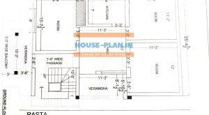 25*35 house plan