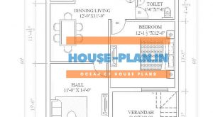 3 bhk house plan in 1500 sq ft
