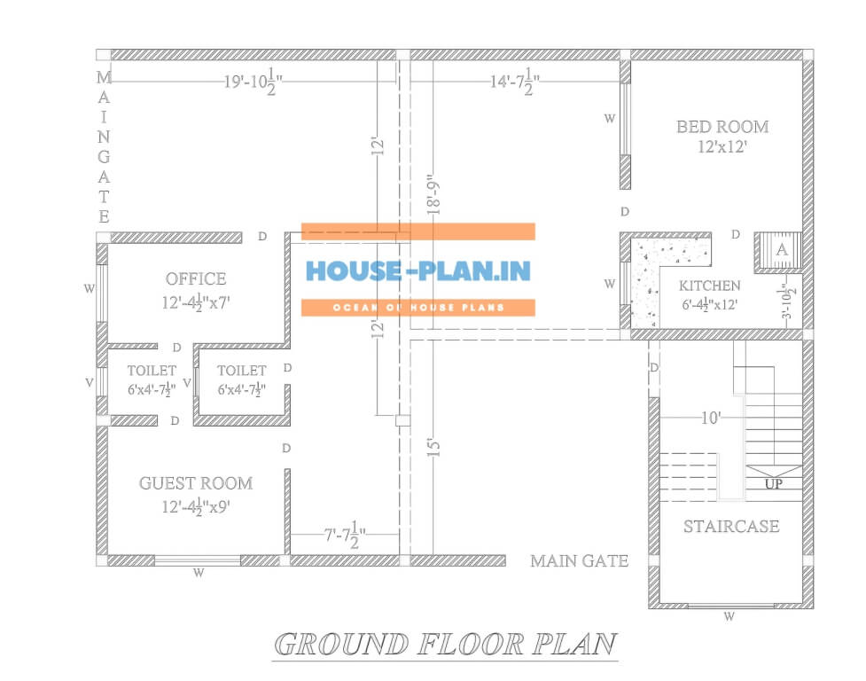 4 bedroom house plan indian style